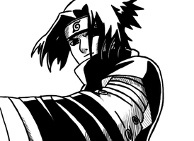 Uchiha Sasuke by Rumain