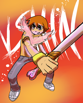 Scott pilgrim VS the world by Koma404