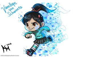Vanellope von Schweetz aka The Glitch by Kaiser-jiM