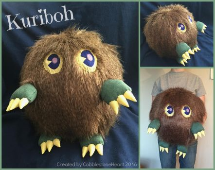 Kuriboh Plush by CobblestoneHeart