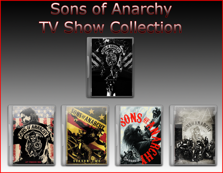 Sons of Anarchy Tv Icons by jake2456