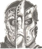 Jason X Portrait by darkkart