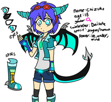 |:.Chizuko REF sheet.:| by WaffIo