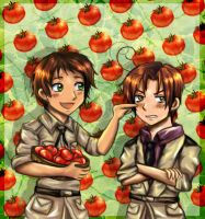Spain and Romano by Honeysucle10
