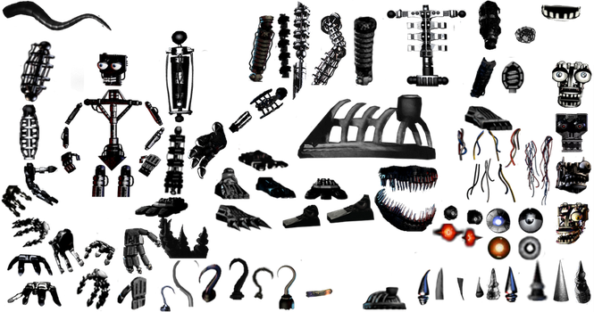 Endoskeleton resources pack by De-activating