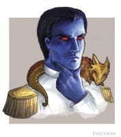 Thrawn commission by Evolvana