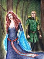 Talia And Legolas by MyWorld1