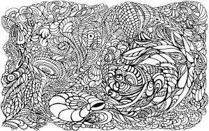 Abstraction1-lineart by exobiology