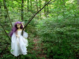 Sylph in the enchanted forest by tkoverkamp