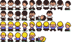 Joe and Ben sprites by fastpagersbackbaby