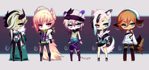 assorted little adopt auction - CLOSED by SoukiAdopts