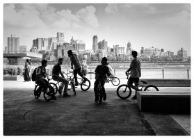 BMXing by PatrickMonnier