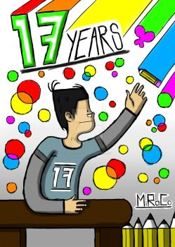 17 Years of DeviantArt by MiRaCo-Oficial