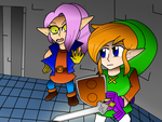 Link Between Worlds-Save the Thief Girl! by Rosegirl28