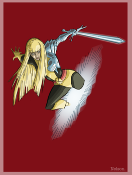 X-Man of the day: MAGIK by NelsonHernandez