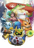 League of legends champions by Reislet