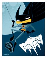 kid batman by strongstuff