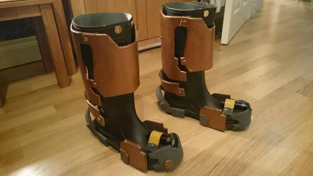 DeadSpace 2 Boots by Dax79