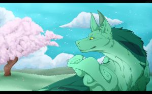 Spring Day by Wolv31000