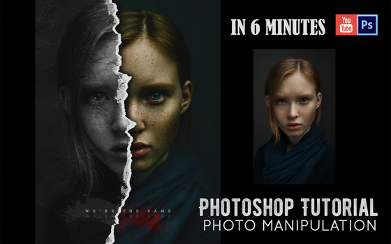 Photo Manipulation | Photoshop Tutorial | IN 6 MIN by Alex-Golden