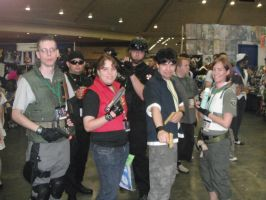 resident evil cosplays 2 by TifaHeartilly78
