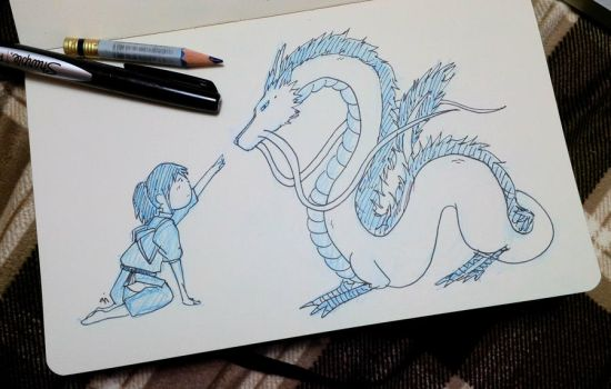 My submission to Ghibli Jam 2014! by parttimedoodles