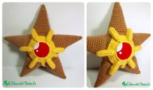 For Sale! Staryu Plush by TheEmeraldStitch