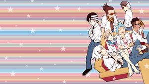 Soul Eater Wallpaper V.2 by StrawberryHollow