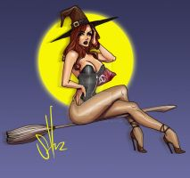 Witch by scottssketches