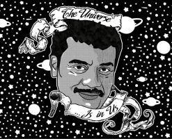 Dr. Neil DeGrasse Tyson by TheKangrejoman