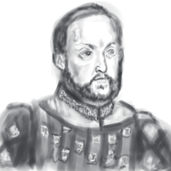 When he was more of a knightly king... by MadAlien71