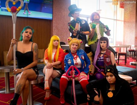 Punk Sailor Moon Group 1 by Tokyo-Trends