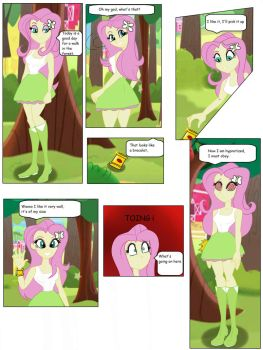 comision Fluttershy  hipnotized by CarlosFco