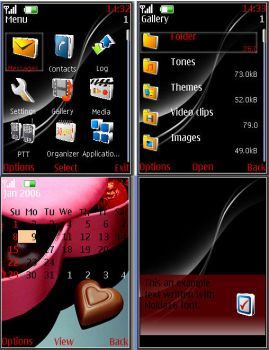 Black Elegance for Nokia 6270 by macheli