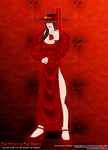 The Lady in Red with her 'Scarlet and Wesson'! by BlackSandrock10