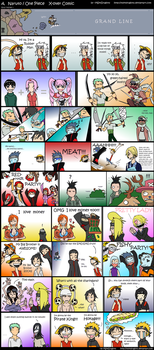 Naruto + One Piece CrackComic by MSkyDragons
