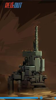 Red Out concept- Vulcan building 2 by Fenrir--the-2nd