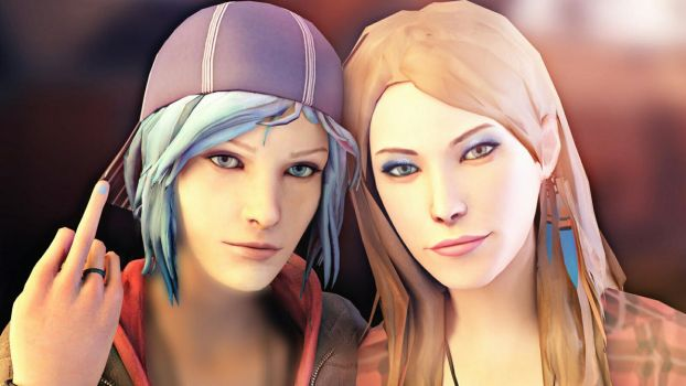 Life Is Strange - Chloe and Rachel by ICYCROFT