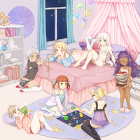 girl's night by mikimanni