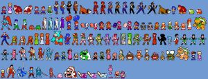 NES Character Sprites by Amarythe