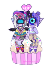 [Cupcake] - KyaKlutz by hello-planet-chan