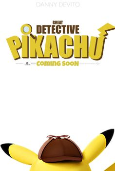 Great Detective Pikachu Movie Poster by TheDarkRinnegan