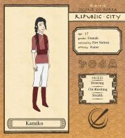 Republic City: Kamiko by addicted2tea
