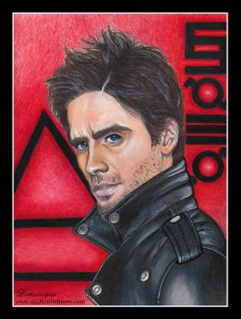 Jared Leto This is War 2009 by SkullzNFishnets