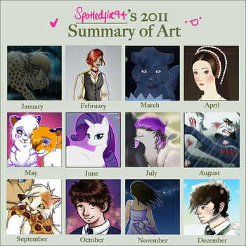 2011 Summary of Art by Spottedfire94