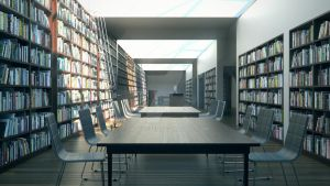 Diploma - Library by sadypisten