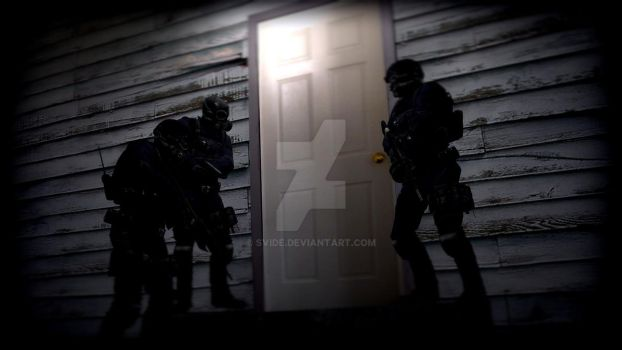 Swat at night by Svide