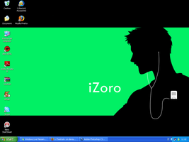 iZoro Desktop by x-Thestral-x