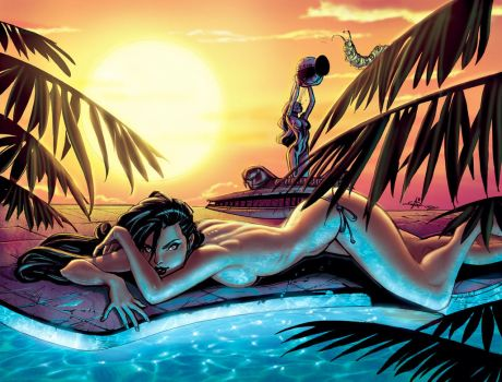 swimsuit spread in color by Alex0wens