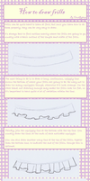 How to Draw Frills by CloudRider99